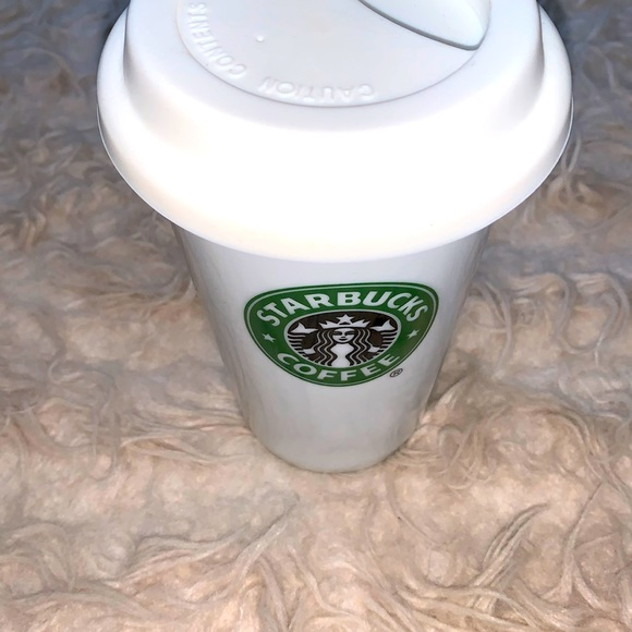 Starbucks Mermaid Logo Coffee Tumbler